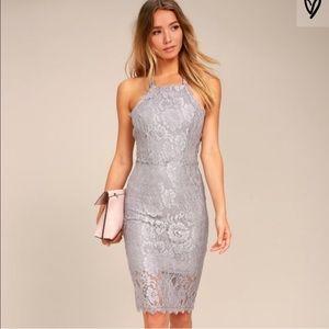 Lulus wishful wanderings lace dress